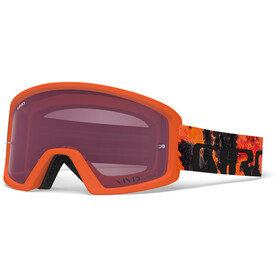 Giro Tazz MTB Goggles lava, vivid trail/clear